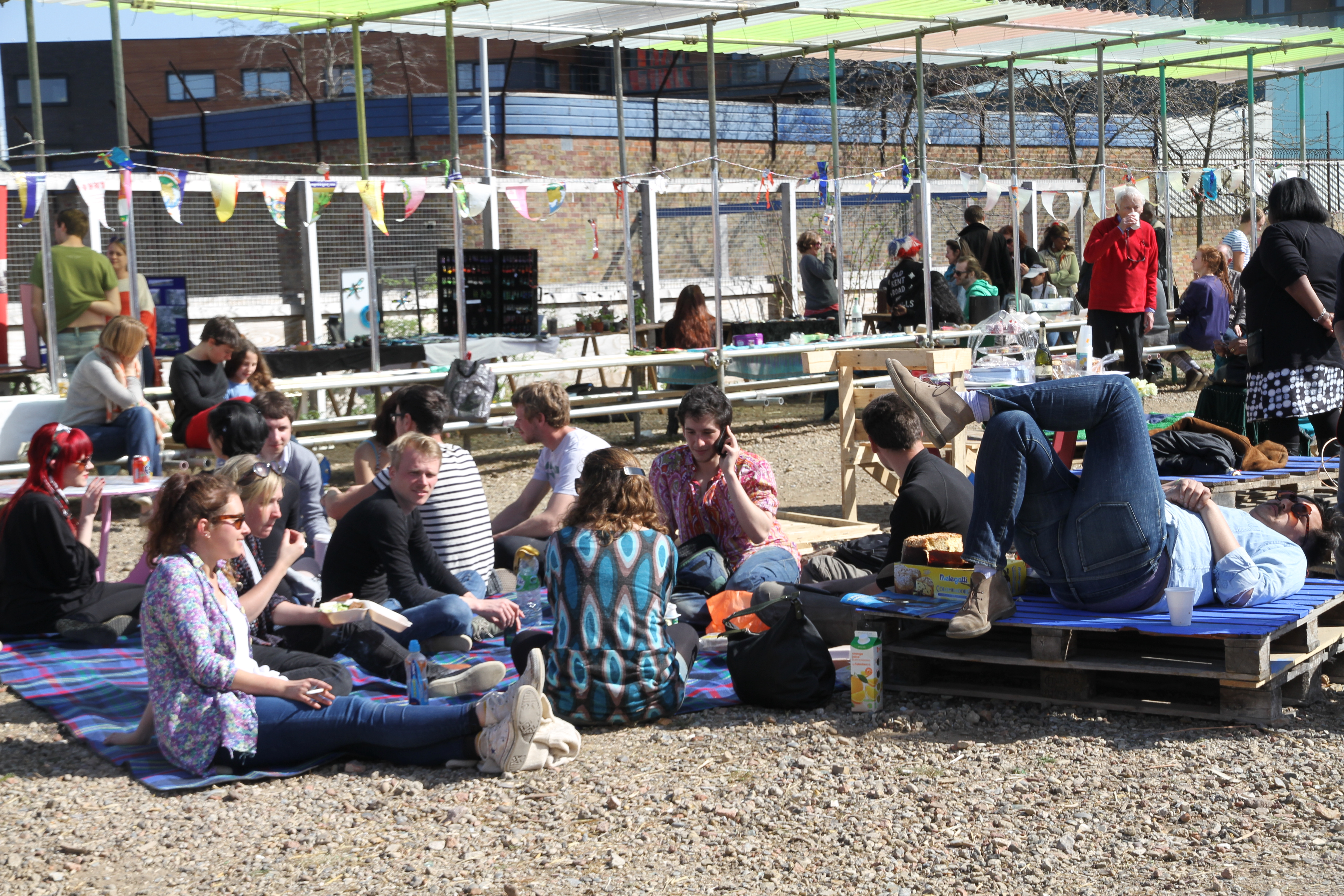 Architects' Journal takes a tour of Canning Town Caravanserai
