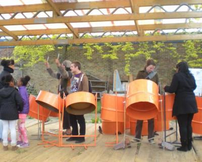 Steelband Classes at Caravanserai